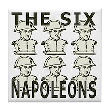 Six Napoleons Tile Coaster