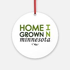 'Minnesota' Ornament (Round)