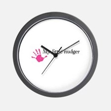 My little nudger Wall Clock