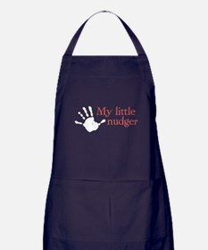 My little nudger Apron (dark)