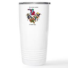 Captain Planet Travel Mug