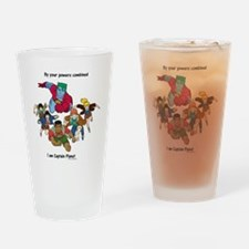 Captain Planet Drinking Glass