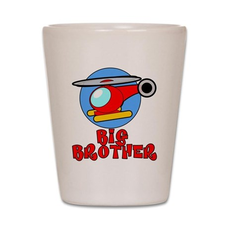 Big Brother Helicopter Shot Glass