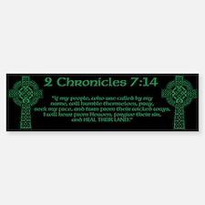 Celtic 2Chr 7:14 - Bumper Bumper Sticker