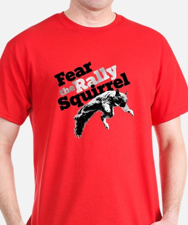 Rally Squirrel Red T-Shirt