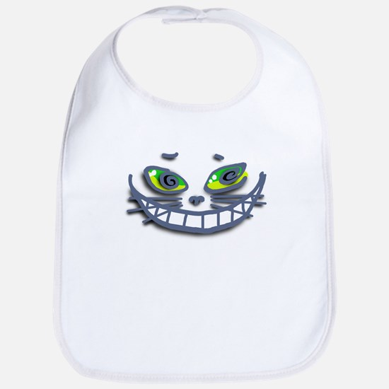 Mesmerizing Cheshire Cat Bib