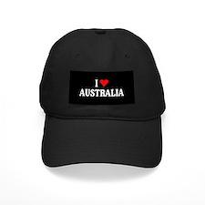 I Love Australia Baseball Cap