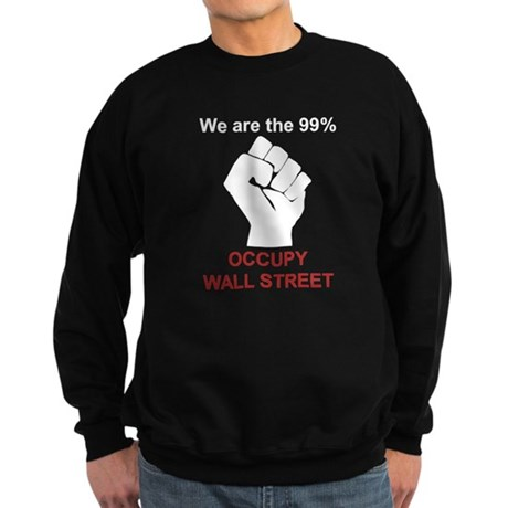 Occupy Fist Sweatshirt (dark)