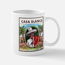 Casa Blanca Cigar Label Mug