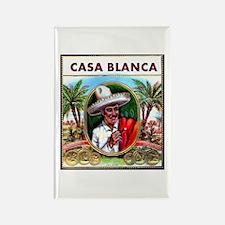 Casa Blanca Cigar Label Rectangle Magnet