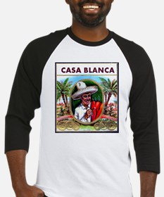 Casa Blanca Cigar Label Baseball Jersey