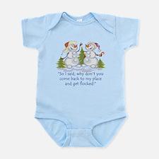 Get Flocked Infant Bodysuit
