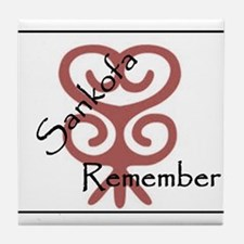 remember Tile Coaster