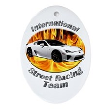 Lexus LFA Ornament (Oval)