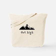 Get High Mountains Tote Bag