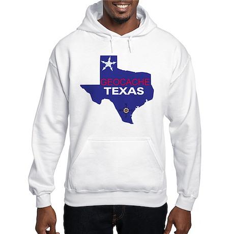 Geocache Texas Hooded Sweatshirt
