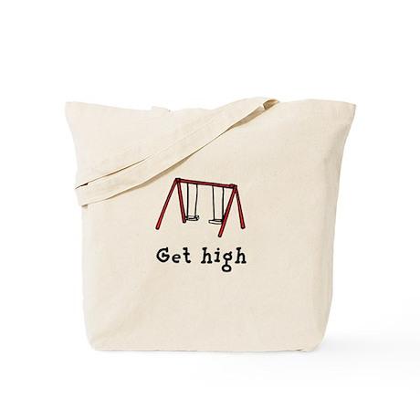 Get High Swing Set Tote Bag