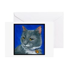"Tuxedo Cat ""Skippy"" Greeting Cards (Pk of 20)"