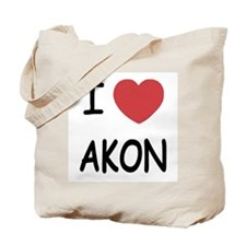 I heart Akon Tote Bag