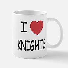 I heart knights Mug
