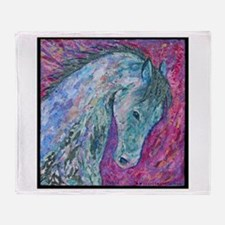 Passion Horse Throw Blanket