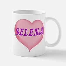 selena heart Mug