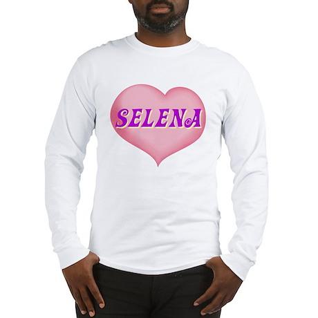 selena heart Long Sleeve T-Shirt