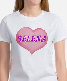 selena heart Women's T-Shirt