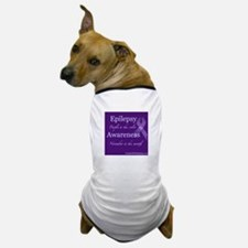 Epilepsy Awareness Dog T-Shirt
