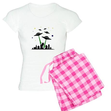 UFO Attack Women's Light Pajamas