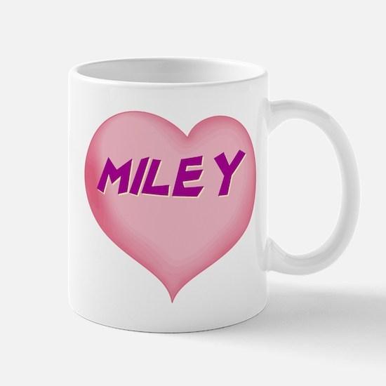 miley heart Mug