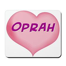 oprah heart Mousepad