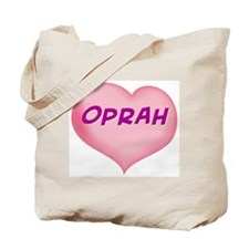 oprah heart Tote Bag