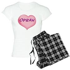 oprah heart Pajamas
