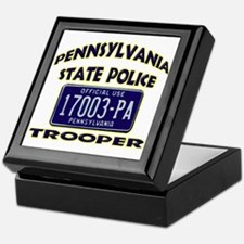 Pennsylvania State Police Keepsake Box