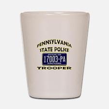 Pennsylvania State Police Shot Glass