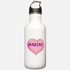mariah heart Water Bottle