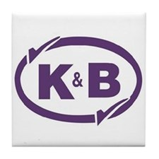 K&B Drugs Double Check Tile Coaster