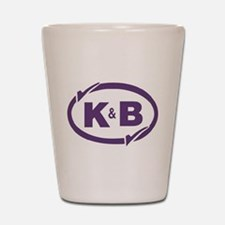 K&B Drugs Double Check Shot Glass