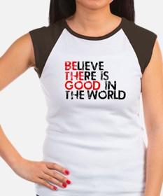 Be The Good In The World Women's Cap Sleeve T-Shir