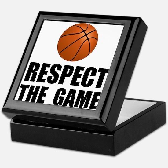 Respect Basketball Keepsake Box