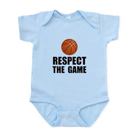 Respect Basketball Infant Bodysuit