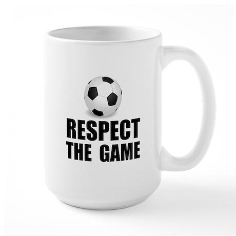 Respect Soccer Large Mug