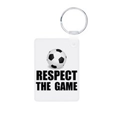 Respect Soccer Keychains