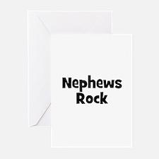 Nephews Rock Greeting Cards (Pk of 10)