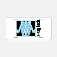 X-Ray Tech Aluminum License Plate