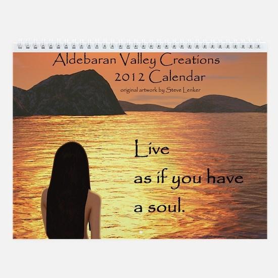 Aldebaran Valley Creations Wall Calendar