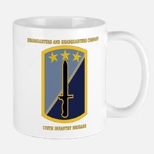 HHC - 170th Infantry Bde with Text Mug