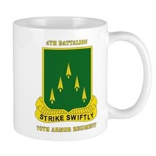 SSI - 4th Battalion, 70th Armor Rgt with Text Mug