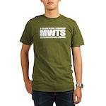 Welsh Terrier Organic Men's T-Shirt (dark)
